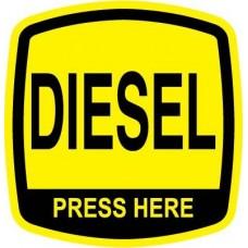Bennett Diesel Octane Decal ORB-DIESEL