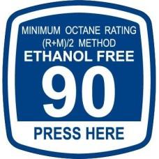 Bennett 90 Ethanol Free Decal ORB-EF90