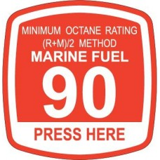 Bennett 90 Marine Fuel Decal ORB-MF90