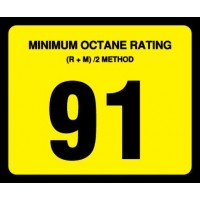 Gilbarco Advantage 91 Octane Overlay OR-91