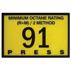 Gilbarco Advantage 91 Octane Overlay R60030-20