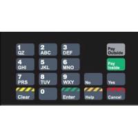 Gilbarco Advantage Keypad Overlay T50064-81