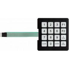 Gilbarco Advantage Manager Keypad T17549-G1