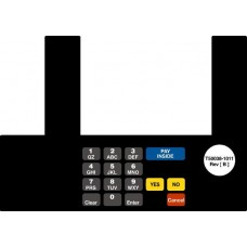 Gilbarco Advantage InfoScreen Keypad Overlay T50038-1011