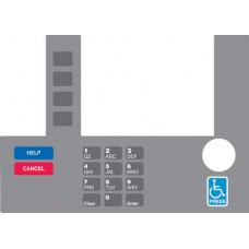 Gilbarco Advantage InfoScreen Keypad Overlay T50038-108A
