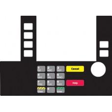 Gilbarco Advantage InfoScreen Keypad Overlay T50038-1108