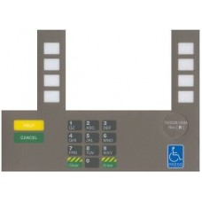 Gilbarco Advantage InfoScreen Keypad Overlay T50038-134A-BP