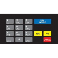 Gilbarco Advantage Keypad Overlay T50064-1011