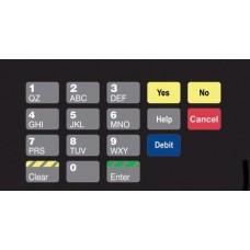 Gilbarco Advantage Keypad Overlay T50064-49