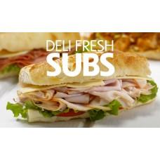 Deli Fresh Subs - Pump Topper Inserts CT-PXL-110