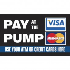 Pay at the Pump Topper CT-PXL-APC