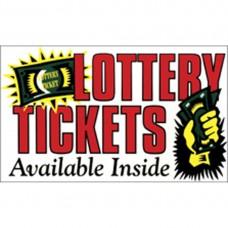 Lottery Tickets Pump Topper Insert CT-PXL-LOT