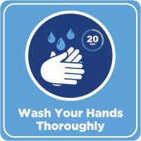 Wash Your Hands Decal PID-DEC-COV-WASHANDS