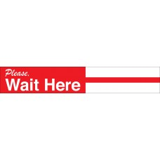 Please Wait Here Decal PID-SDD3