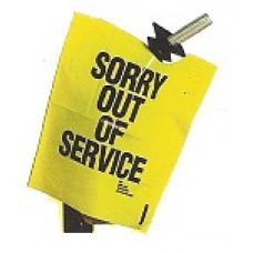 OUT OF SERVICE NOZZLE COVER