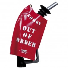OUT OF ORDER RED NOZZLE COVER