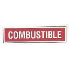 Combustible Decal