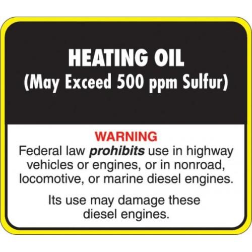 Api Heating Oil Decal Api Ho