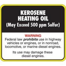 API Kerosene Heating Oil Decal API-KHO