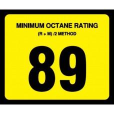 Gilbarco Advantage 89 Octane Overlay OR-89