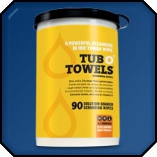 GASOILA TUB O' TOWELS MULTI PURPOSE WIPES TW40