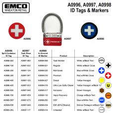 EMCO Manhole Ethanol Free ID Tag A0996-010