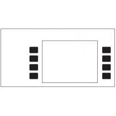 Gilbarco Advantage Mono Softkey Overlay T50180-G003