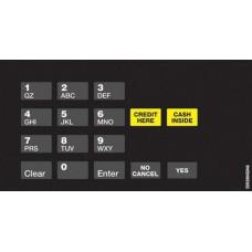 Gilbarco Crind Keypad Overlay EU03004G046