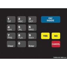 Gilbarco Advantage Keypad Overlay T18724-1011