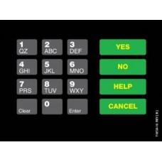 Gilbarco Advantage Keypad Overlay T18724-10A