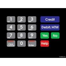 Gilbarco Advantage Keypad Overlay T18724-73