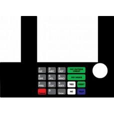 Gilbarco Advantage InfoScreen Keypad overlay T50038-1041