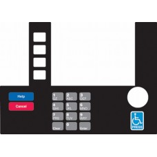 Gilbarco Advantage InfoScreen Keypad Overlay T50038-104A