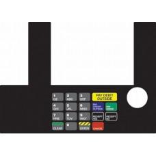 Gilbarco Advantage InfoScree Keypad Overlay T50038-1074