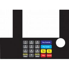 Gilbarco Advantage InfoScreen Keypad Overlay T50038-1096