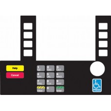 Gilbarco Advantage InfoScreen Keypad Overlay T50038-121A