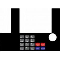 Gilbarco Advantage InfoScreen Keypad Overlay T50038-70