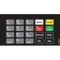 Gilbarco Advantage Keypad Overlay T50064-01