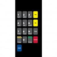 Gilbarco Advantage Keypad Overlay T50136-05
