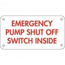 EMERGENCY SHUT OFF SIGN ESO-2