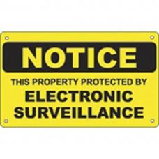 ELECTRIC SURVEILLANCE SIGN