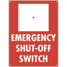 Emergency Shut-Off Sign M-56