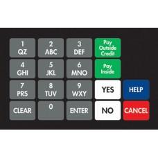 Dresser Wayne Ovation Keypad Overlay 887862-0G7